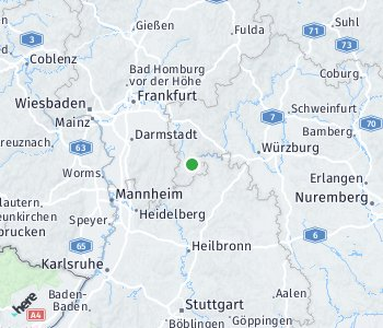 Area of taxi rate Miltenberg