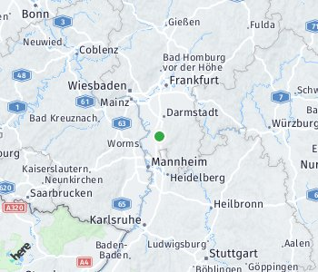 Area of taxi rate Zwingenberg