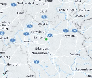 Area of taxi rate Bamberg