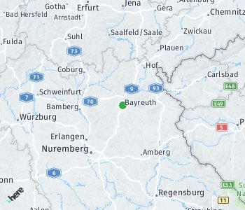 Area of taxi rate Bayreuth