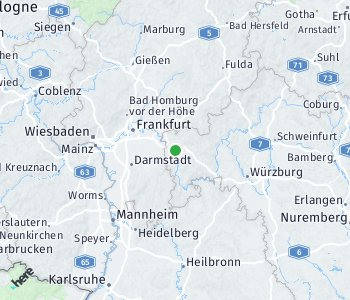 Area of taxi rate Aschaffenburg
