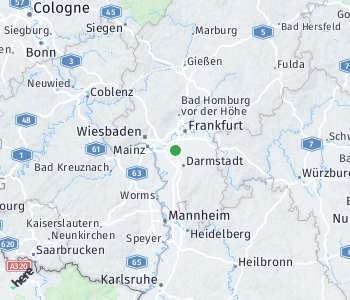 Area of taxi rate Mörfelden-Walldorf