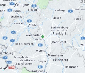 Area of taxi rate Wiesbaden