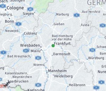 Area of taxi rate Frankfurt (Main)