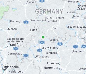 Area of taxi rate Rhön-Grabfeld