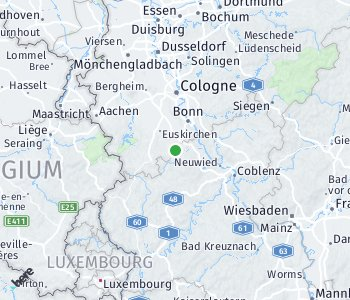 Area of taxi rate Rhein-Berg