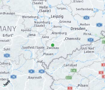 Area of taxi rate Zwickau