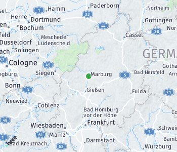 Area of taxi rate Marburg