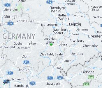 Area of taxi rate Saale-Holzland-Kreis