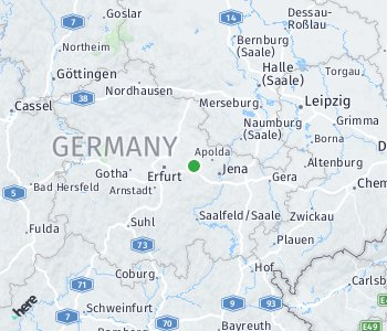 Area of taxi rate Weimar