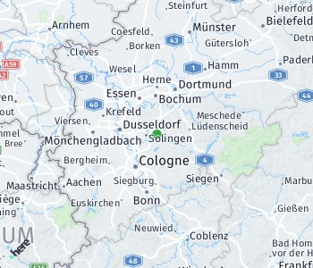 Area of taxi rate Remscheid