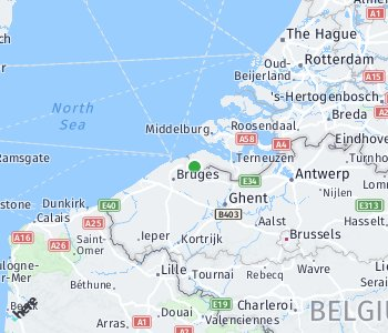 Area of taxi rate Ghent