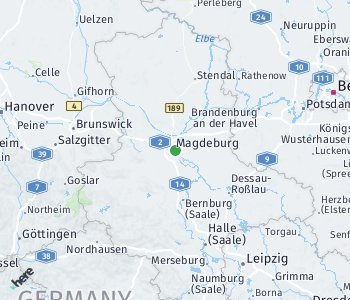 Area of taxi rate Magdeburg