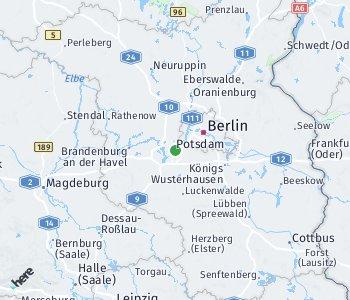 Area of taxi rate Potsdam-Mittelmark