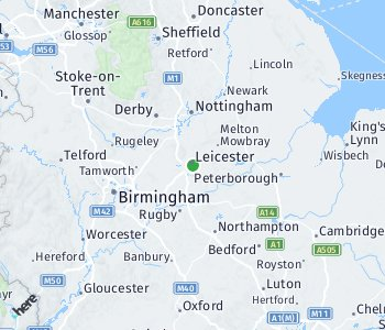 Area of taxi rate Leicester