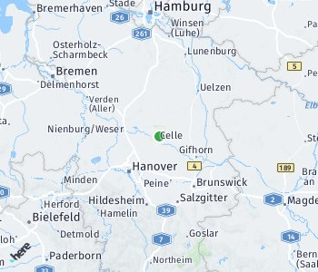 Area of taxi rate Celle
