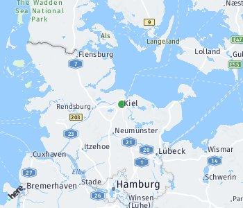 Area of taxi rate Kiel