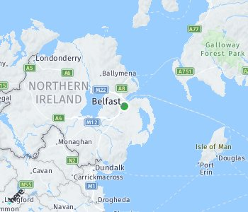 Area of taxi rate Belfast