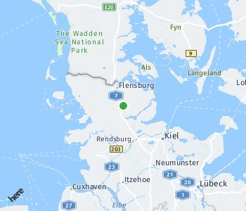 Area of taxi rate Schleswig-Flensburg