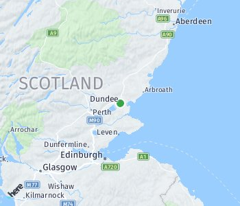 Area of taxi rate Dundee