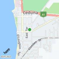 Ceduna map