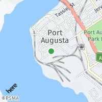 Port Augusta map