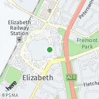 Elizabeth Office map
