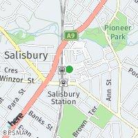 Salisbury/Elizabeth map