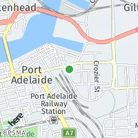 Port Adelaide map