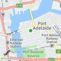 Port Adelaide map