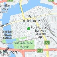 UnitingCare Wesley Port Adelaide map