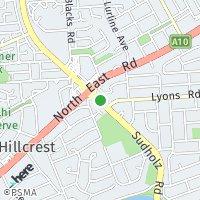 Holden Hill map