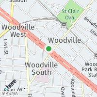 Woodville map