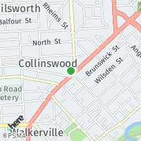 Collinswood: map