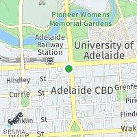 Adelaide Registry map
