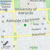 Adelaide: map