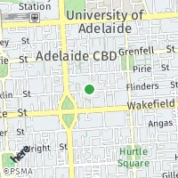 Adelaide Office map