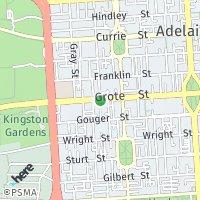 Byron Place Community Centre map