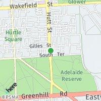 Hutt Street map
