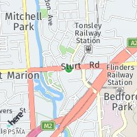 Flinders Uni Campus map