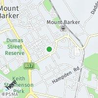 Mount Barker map
