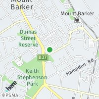 Mount Barker Office map