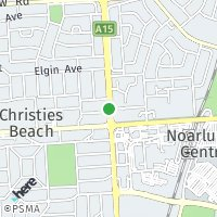 Christies Beach map