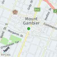 Mount Gambier map