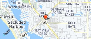 Location of Hooters of Sarasota on a map