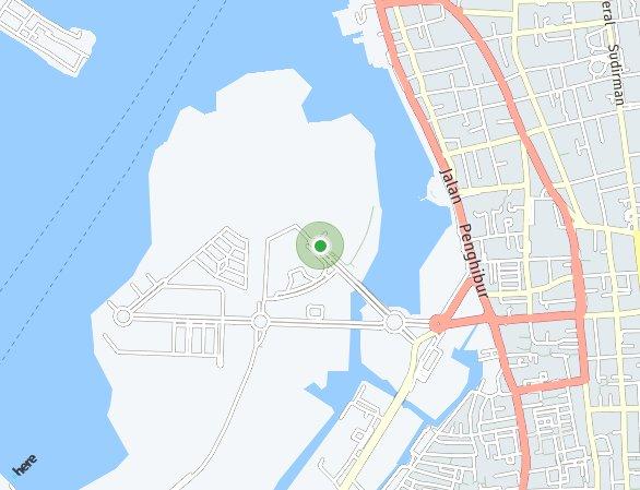 Peta lokasi Sunset Quay - Citraland City Losari