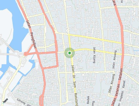 Peta lokasi Sudirman Suites