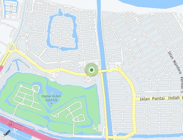 Peta lokasi PIK 2 – Bizpark
