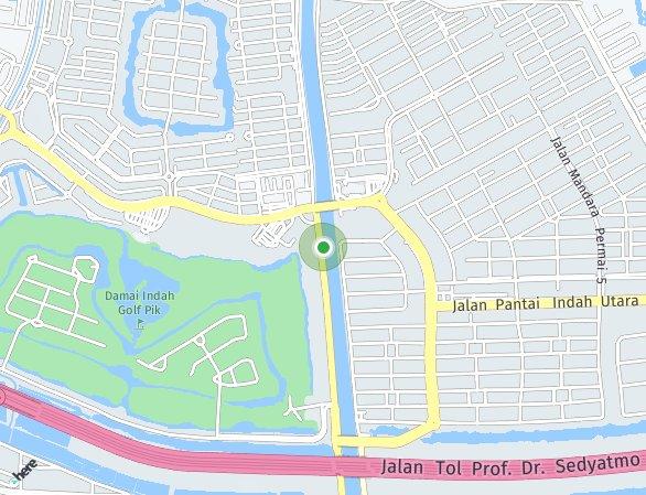 Peta lokasi PIK 2 - Rumah Milenial