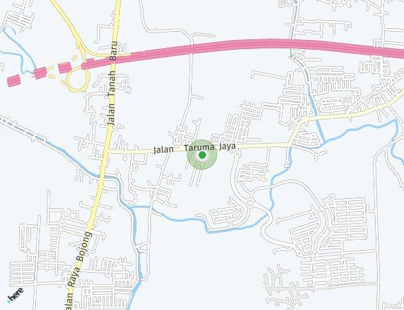 Peta lokasi Cluster Galea at Segara City